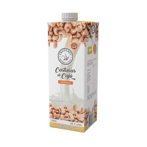 Imagen de Castañas de Cajú Vainilla 1lt x 8 Unidades – Con azúcar