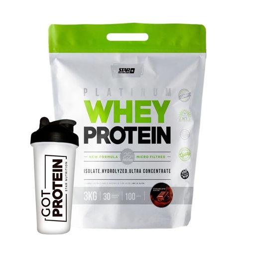Imagen de Premium Whey Protein 3Kg + Shaker