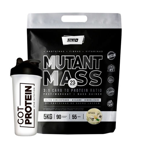 Imagen de Mutant Mass N.O. 5kg + Shaker